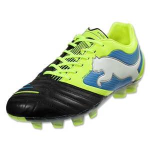 PUMA PowerCat 1.12 SL FG (Black/Fluo Yellow)