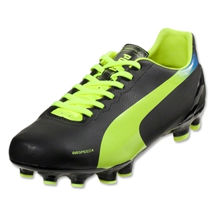 PUMA evoSPEED 4.2 FG (Black/Fluorescent Yellow)