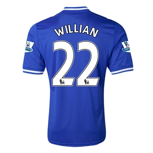 Chelsea 13/14 WILLIAN Home Soccer Jersey