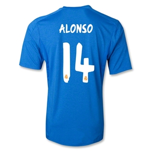 Real Madrid 13/14 ALONSO Away Soccer Jersey