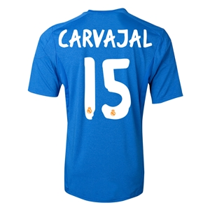 Real Madrid 13/14 CARVAJAL Away Soccer Jersey