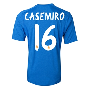 Real Madrid 13/14 CASEMIRO Away Soccer Jersey