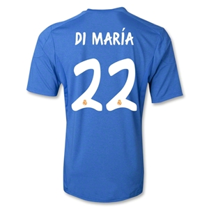 Real Madrid 13/14 DI MARIA Away Soccer Jersey