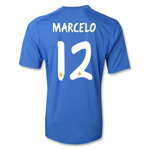 Real Madrid 13/14 MARCELO Away Soccer Jersey