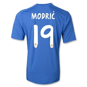 Real Madrid 13/14 MODRIC Away Soccer Jersey