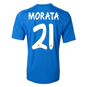 Real Madrid 13/14 MORATA Away Soccer Jersey