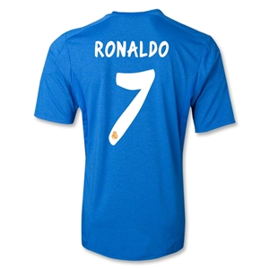 Real Madrid 13/14 RONALDO Away Soccer Jersey