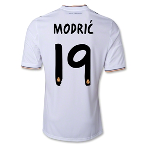 Real Madrid 13/14 MODRIC Home Soccer Jersey