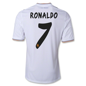 Real Madrid 13/14 RONALDO Home Soccer Jersey