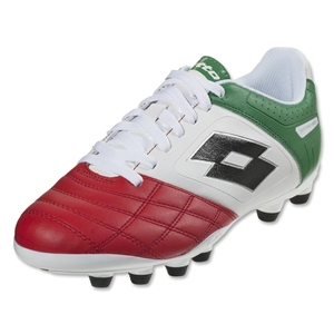 Lotto Stadio Potenza II 700 FG (White/Green/Red)