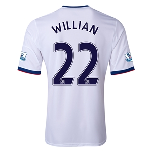 Chelsea 13/14 WILLIAN Away Soccer Jersey