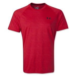 Under Armour Tech Emboss T-Shirt (Red)