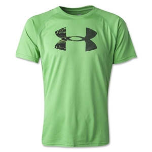 Under Armour Tech Youth Big Logo T-Shirt (Green)