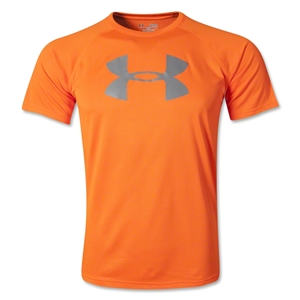 Under Armour Tech Youth Big Logo T-Shirt (Orange)