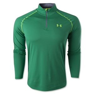 Under Armour Tech 1/4 Long Sleeve T-Shirt (Green)
