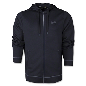 Under Armour Tech Fleece Full Zip Hoody (Black)