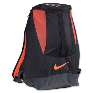 Nike Soccer Shield Compact Backpack (Blk/Red)