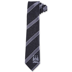 Manchester City Striped Tie