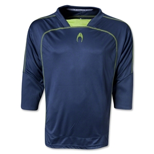 HO Soccer Cool 3/4 Goalkeeper Jersey (Nvy/Yel)