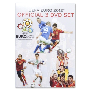 Euro 2012 3 DVD Box Set