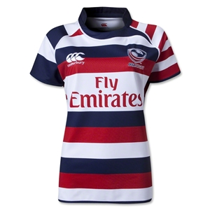 USA Women's Sevens Limited Edition 2013 Home Rugby Jersey