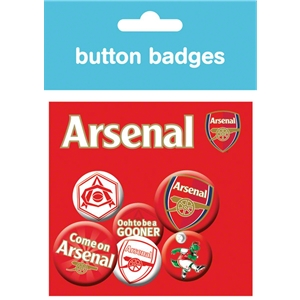 Arsenal Crest Badges Pack