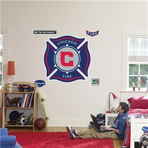 Fathead Chicago Fire Logo Wall Graphic
