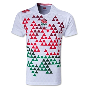 England Sevens 2014 Home Pro Rugby Jersey