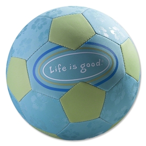Life is Good Aqua Soccer Ball