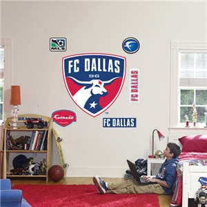FC Dallas Logo Fathead Wall Graphic