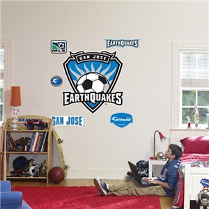 Fathead San Jose Earthquakes Logo Wall Graphic