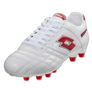 Lotto Stadio Potenza II 300 FG (White/Risk Red)