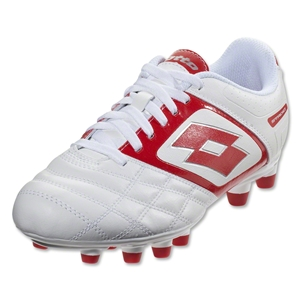 Lotto Stadio Potenza II 700 FG (White/Risk Red)
