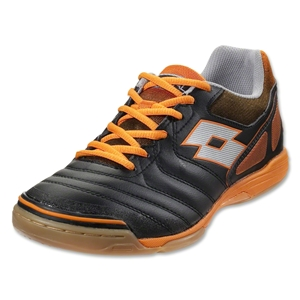 Lotto Futsal Liga V ID (Black/Halloween Orange)