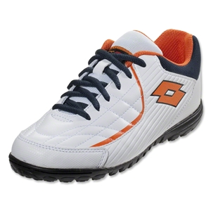 Lotto Torcida VII TF Junior (White/Halloween Orange)