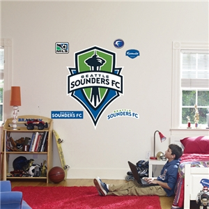 Fathead Seattle Sounders FC Logo Wall Graphic
