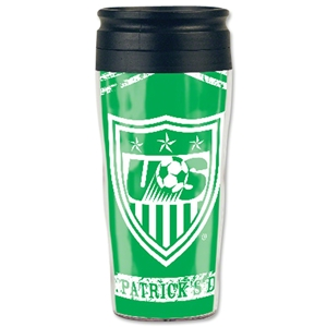 USA St. Patrick's Day Travel Mug