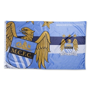 Manchester City Horizon Flag