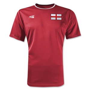 England Primera Soccer Jersey (Red)