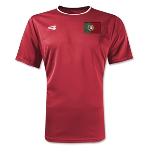Portugal Primera Soccer Jersey (Red)