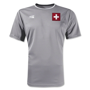 Switzerland Primera Soccer Jersey (Grey)