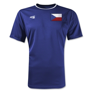 Czech Republic Primera Soccer Jersey (Royal)