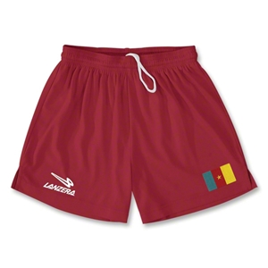 Cameroon Primera Soccer Shorts (Red)