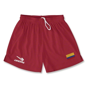 Colombia Primera Soccer Shorts (Red)