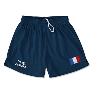 France Primera Soccer Shorts (Navy)