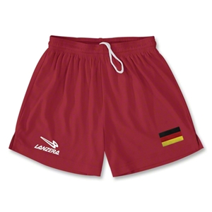 Germany Primera Soccer Shorts (Red)