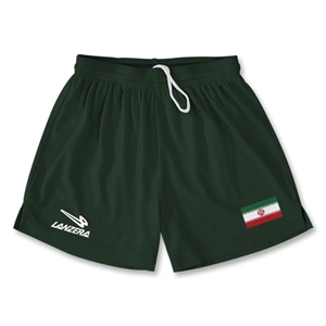 Iran Primera Soccer Shorts (Dark Green)