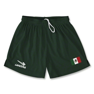 Mexico Primera Soccer Shorts (Dark Green)