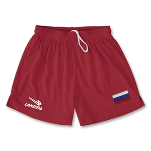 Russia Primera Soccer Shorts (Red)