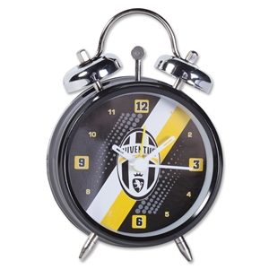 Juventus Stripe Mini Bell Clock